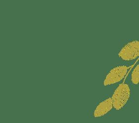 葉っぱのパーツ